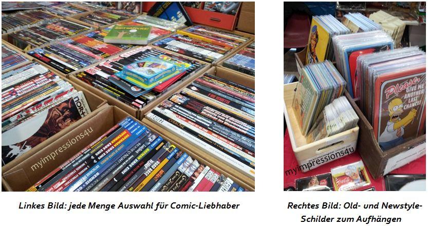 Vienna Comix - Comics und Schilder