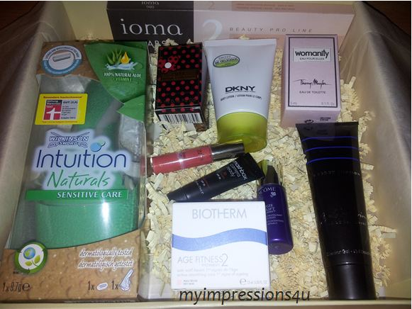 Beautesse Beauty Box Inhalt