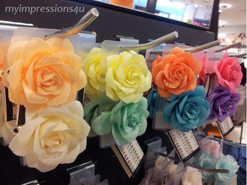 Haarschmuck - Blumen