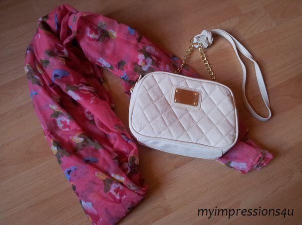 Primark Schal + Tasche