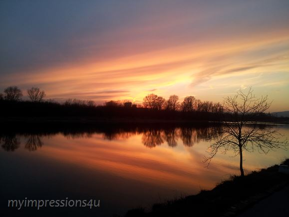 Sonnenuntergang_Donauinsel