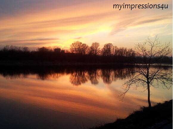 Donauinsel - Sonnenuntergang