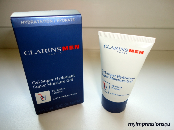 Clarins Men Gel Super Hydratant