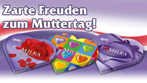 I love Milka - Muttertag