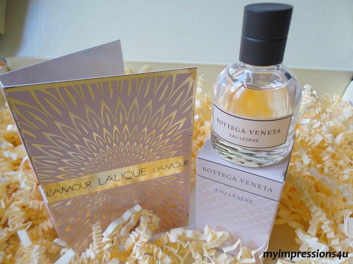 L'amour Lalique + Bottega Veneta Eau Legere