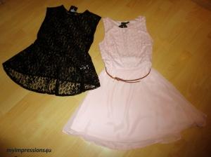 Spitzentop + Kleid