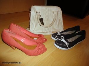 Tasche + Schuhe