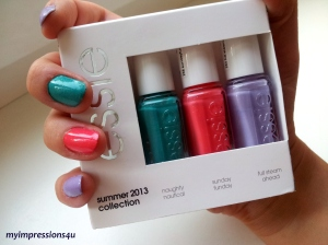 Essie Summer 2013 Collection 1