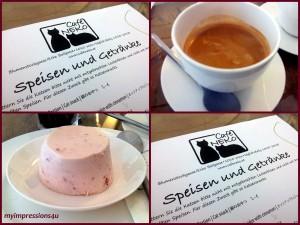 Kaffee & Erdbeer-Mousse