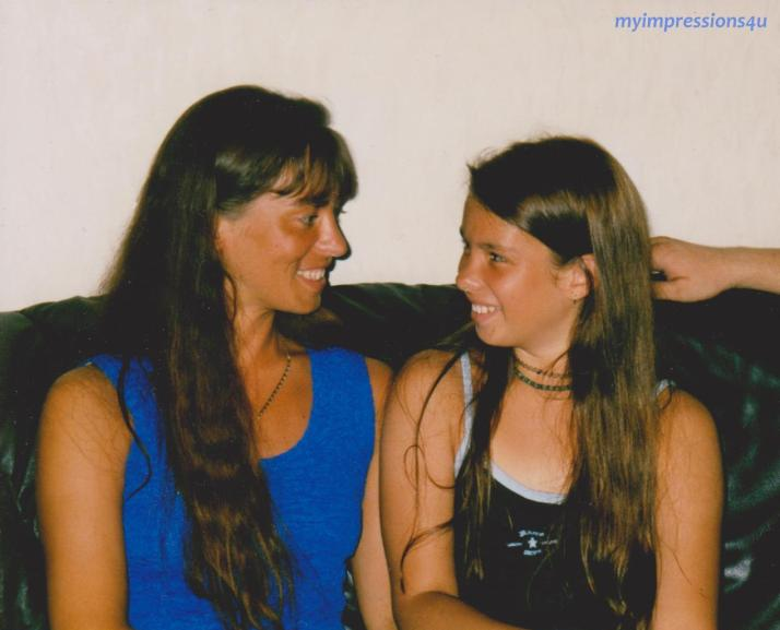 Mama & ich - altes Foto