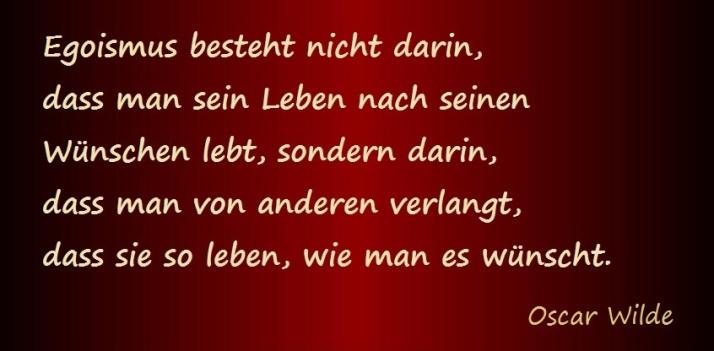 Zitat Oscar Wilde