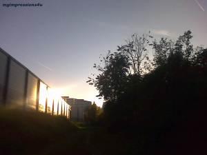 Oktober Wien Sonnenstrahlen