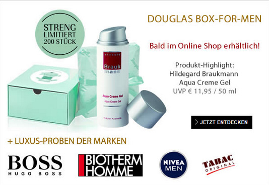 Douglas Box for Men