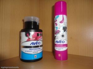 AVEO Nagellackentferner + Nagellack Schnelltrockner Spray