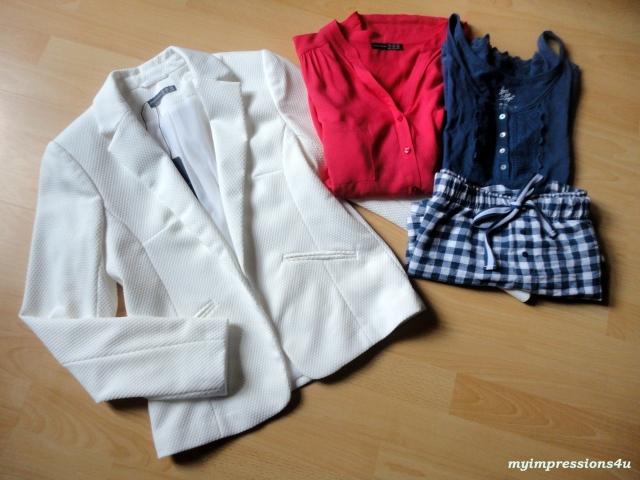Blazer, Bluse, Pyjama