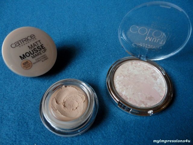 Matt Mousse Make Up + Multi Colour Compact Powder