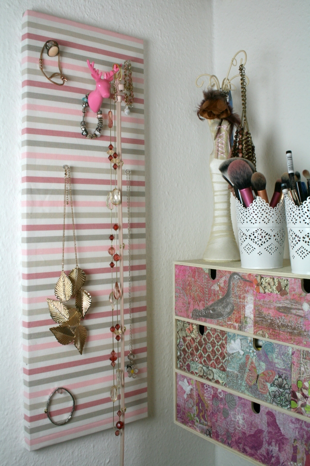 Pinkpetzies-DIY-Schmuckwand