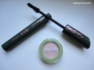 alverde Mascara Eye Catcher + Lidschatten
