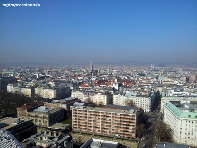 Blick auf Wien 1