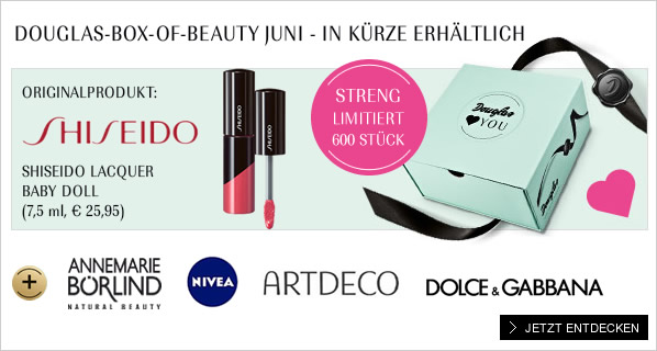 Douglas Box-of-Beauty Juni 2014