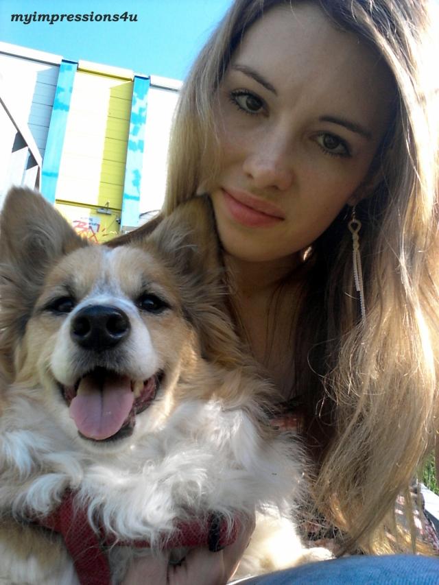 gelungenes Selfie mit Cindy