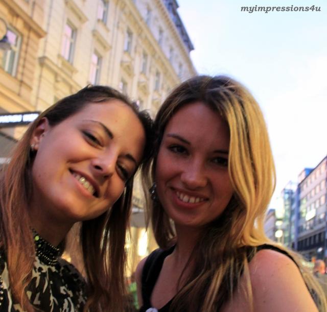 Selfie auf der Kärntner Straße