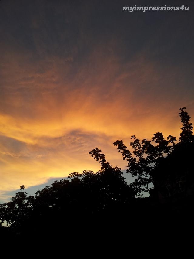 Sonnenuntergang Mai 2014