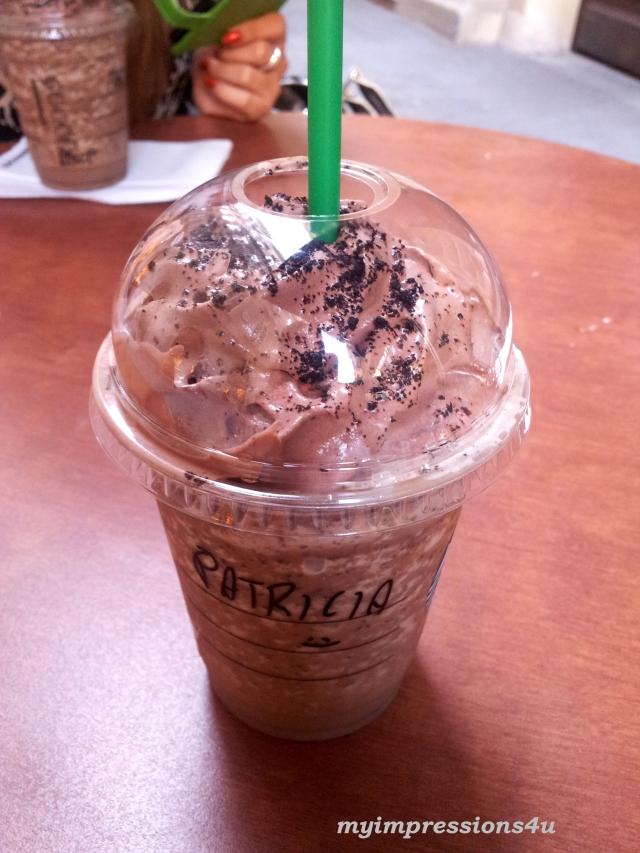 Starbucks Frappuccino Mocha Cookie Crumble