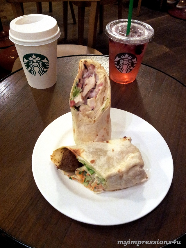 Starbucks Lunch - Wraps
