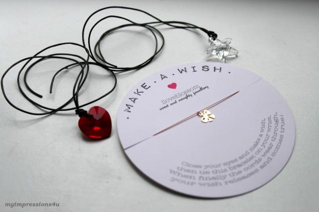 Swarowski Ketten & Iloveblossom Armband