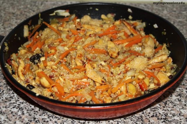 Chinapfanne mit Couscous