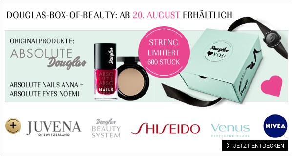 Douglas Box of Beauty August 2014