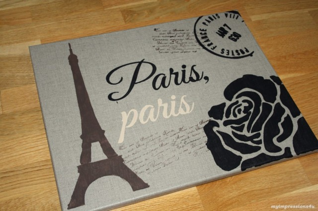DIY Paris Leinwand_myimpressions4u