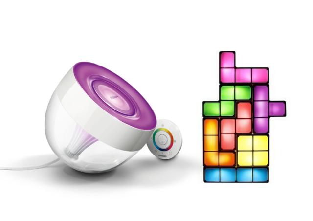 Es werde Licht_Philips Leuchte_Tetris Leuchte