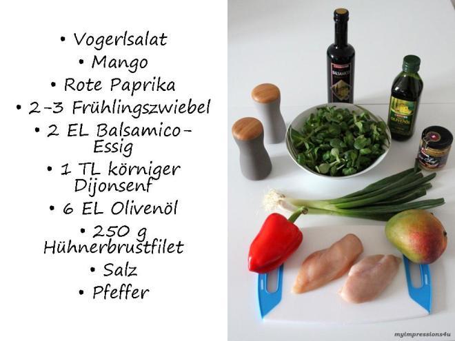 Mango Vogerlsalat mit Hühnerbrustfilet_Zutaten_myimpressions4u
