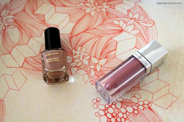 DM Schönheits-Box_MaxFactor Mini Polish & Maybelline Color Elixir_Mai 2015_myimpressions4u