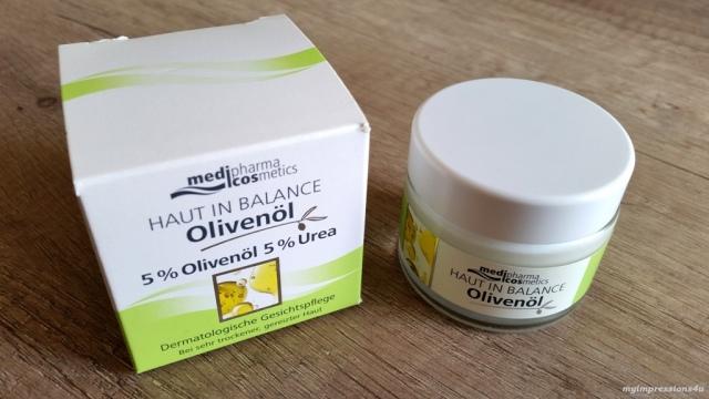 medipharma cosmetics Haut in Balance Olivenöl_myimpressions4u