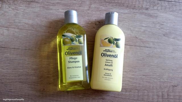 medipharma cosmetics Olivenöl Shampoo und Spülung_myimpressions4u