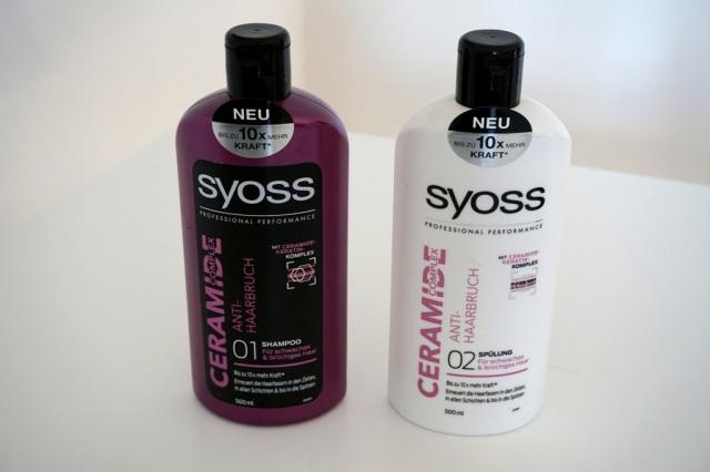 Syoss Ceramide Complex_Shampoo & Spülung_myimpressions4u