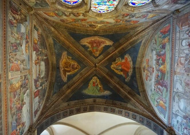 Decke in der Basilika Santa Maria Novella_myimpressions4u