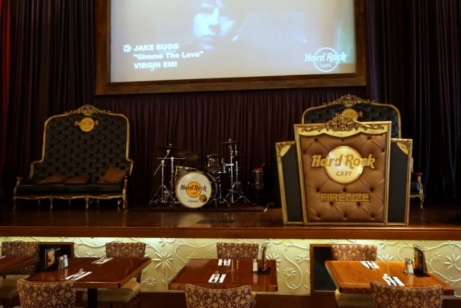 Hard Rock Cafe Firenze_Bühne_myimpressions4u