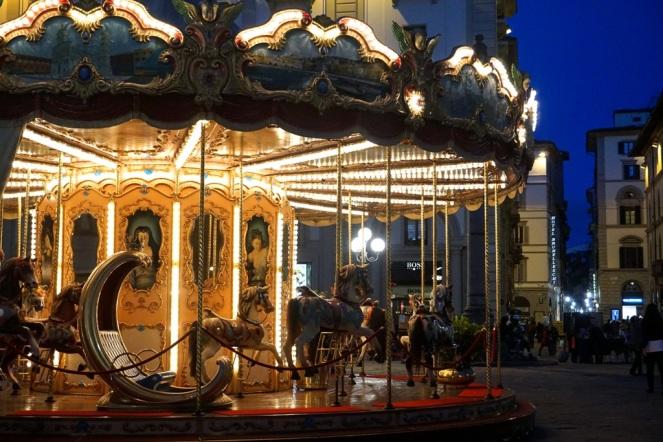 Piazza della Repubblica Florenz_Karussell_myimpressions4u
