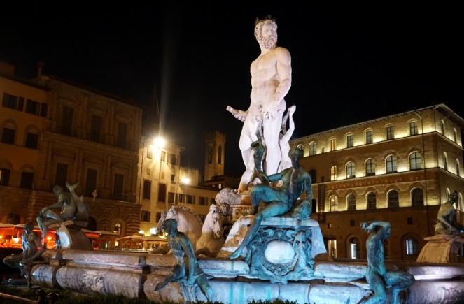 Piazza della Signoria Florenz_Neptunbrunnen 1_myimpressions4u
