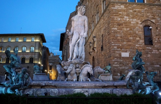 Piazza della Signoria Florenz_Neptunbrunnen 2_myimpressions4u