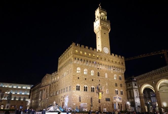 Piazza della Signoria Florenz_Palazzo Vecchio_myimpressions4u