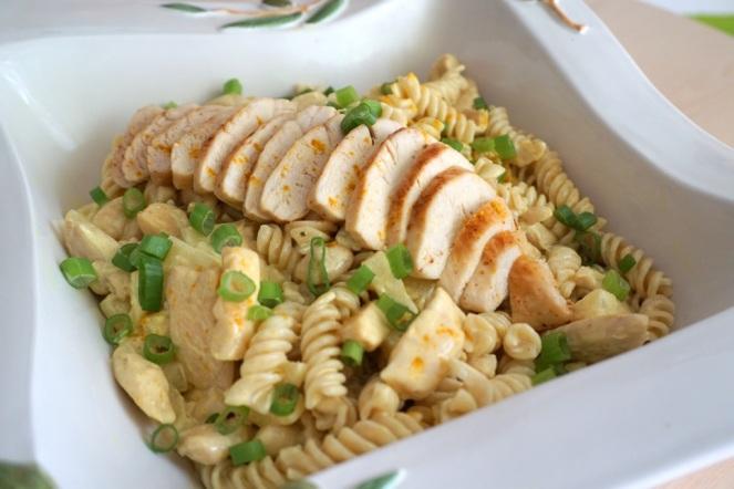 Nudelsalat Ananas Curry Huhn 2_myimpressions4u